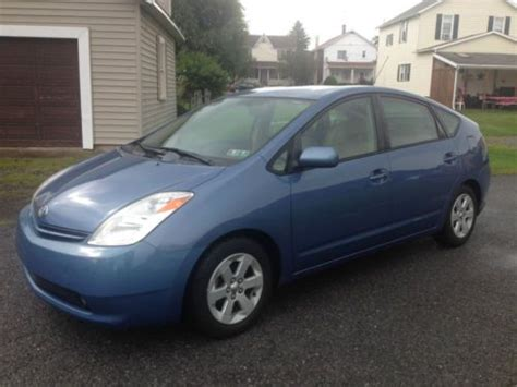 2005 Toyota Prius Mpg Find Used 2005 Toyota Prius 50 Mpg No Reserve In