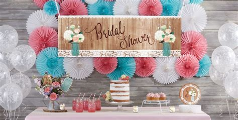 rustic wedding supplies bridal shower themes - Theme Bridal Shower Tableware