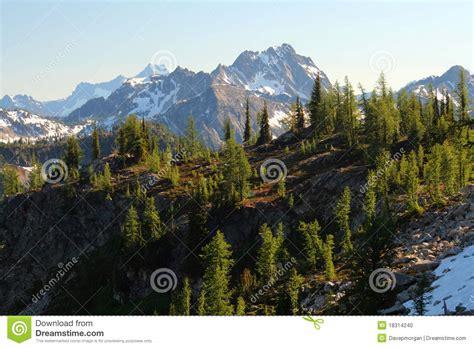 rugged mountain range rugged mountain range stock photo image 18314240