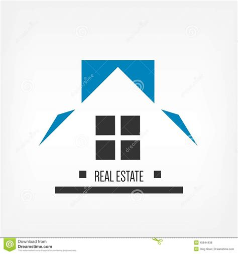 white house realty real estate icon stock vector image 45844438