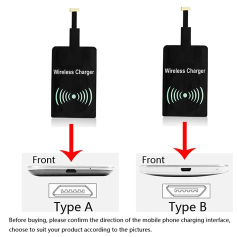 Universal Qi Wireless Charger Charging Receiver Apple Iphone 5 6 universal qi wireless charger charging patch receiver