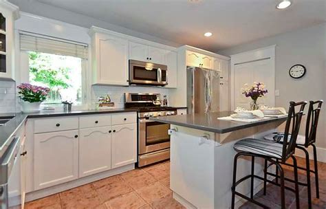 painted kitchen cabinets white vancouver colour consultant paint your cabinets white to sell your house before after