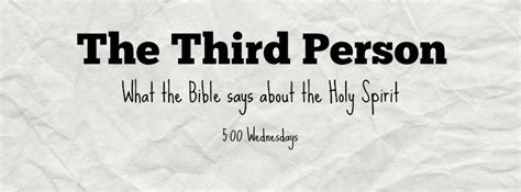 current wednesday series the third person