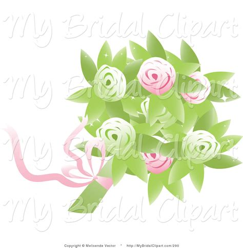 Wedding Bouquet Clipart by Royalty Free Floral Stock Bridal Designs