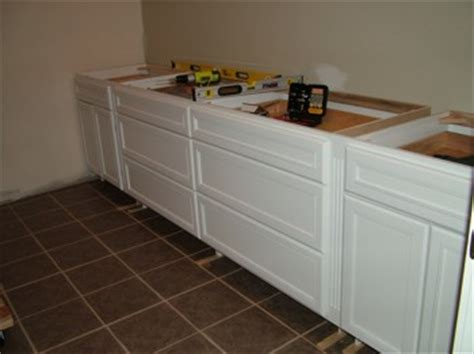 how to install klearvue cabinets cabinet installation ask the builder