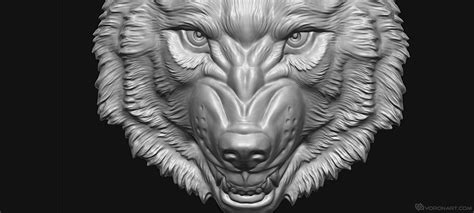 zbrush wolf tutorial patrs of coat of arms 3d models bas relief for cnc milling