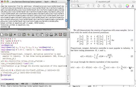latex tutorial for writing equations writing equations in latex interation differenciation