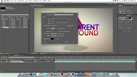Tutorial After Effects Background | after effects transparent background tutorial quick tip