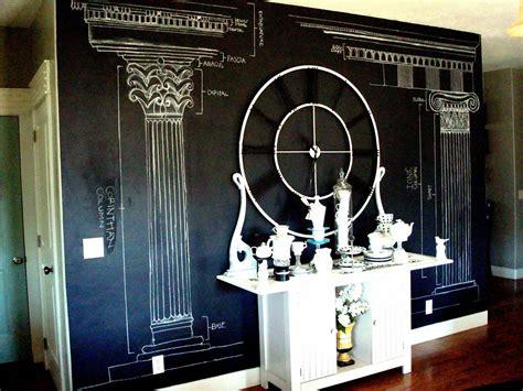 chalk paint on walls chalkboard paint wall blue ribbon award
