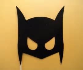 diy batman mask template posh house originals diy costumes simple low cost and