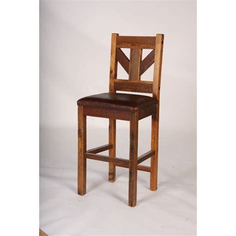windy stables bar stool with leather seat 24 and 30