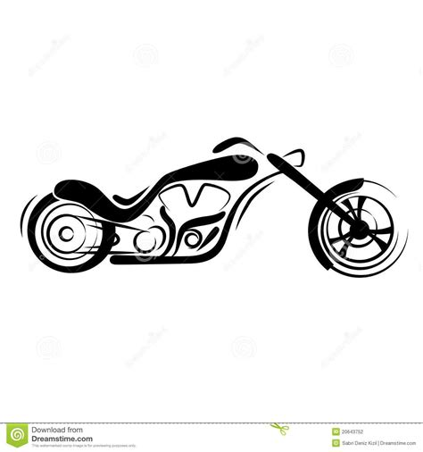 chopper tattoo designs simple motorcycle clipart search design