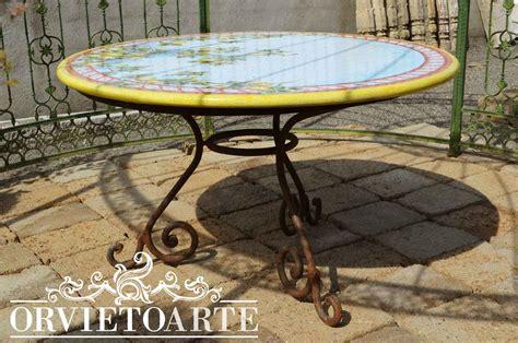tavolo ferro battuto e vetro tavoli marmo e ferro battuto terredelgentile