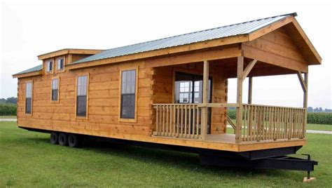 Log Cabin Trailer Homes by Top 10 Tiny Houses On Wheels Living Large In Tiny Places