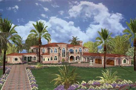 palatial two story master suite in mediterranean style house plan 107 1189 7 bedroom 10433 sq ft luxury