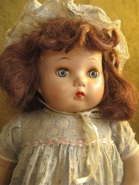 composition doll identification horsman composition doll 20 quot brown mohair original dress