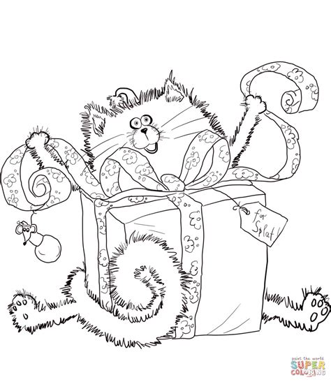Merry Christmas Splat Coloring Pages | merry christmas splat