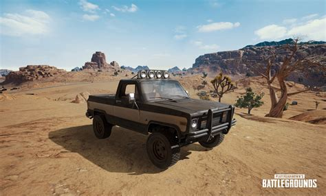 pubg desert map release date see the new pickup truck coming to playerunknown s