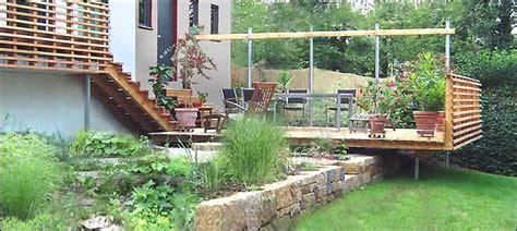 natursteinmauer mit holz nowaday garden