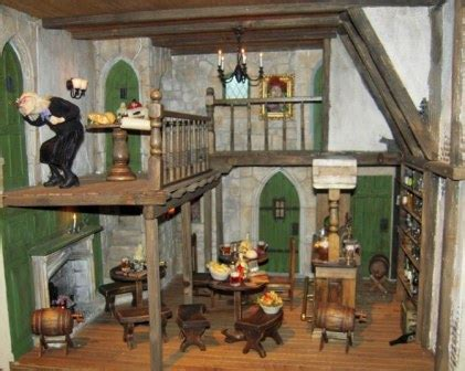 harry potter dolls house ministry of magic harry potter in miniature part 1 fantasy projects dolls house