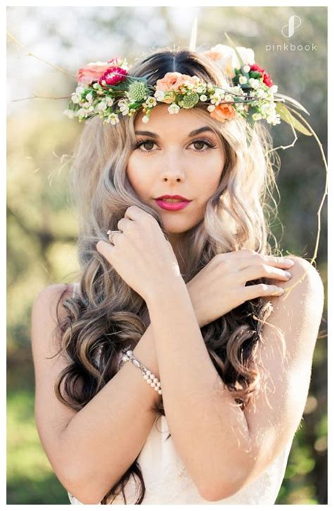 long hairstyles book 10 beautiful wedding hairstyles for long hair l pink book