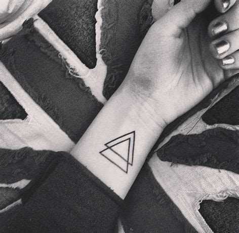 triangle couple tattoo meaning triangle wrist tattoo tumblr