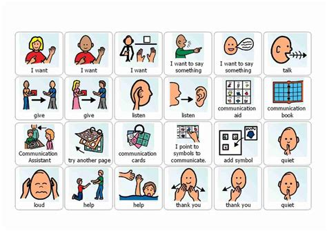Cue Cards Speech For Pd Template by Visual Cue Cards For Use With Autistic Children Printable