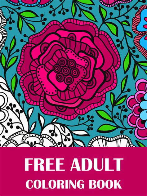 coloring books for adults app app shopper coloring book for adults free coloring