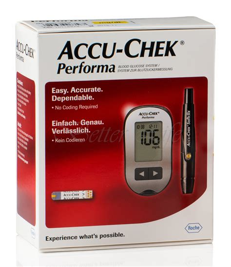Accu Chek Performa Termurah galleon accu chek performa blood glucose meter and lancing device fast 5 second test