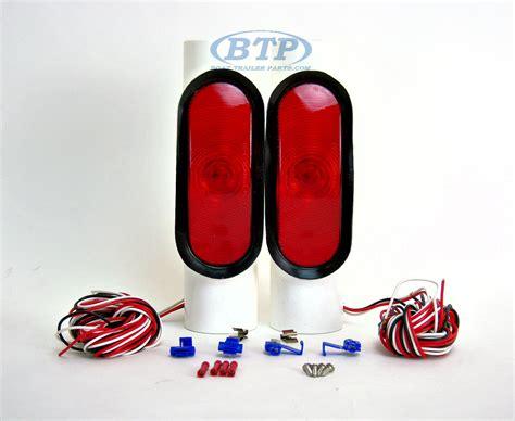 boat pipe lights incandescent pipe light kit for boat trailer guide poles