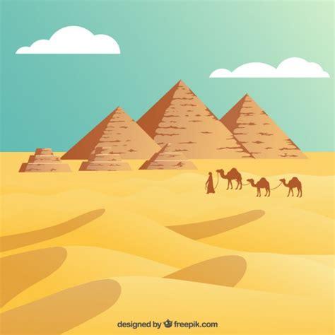 descargar imagenes egipcias gratis desierto de egipto con las pir 225 mides descargar vectores