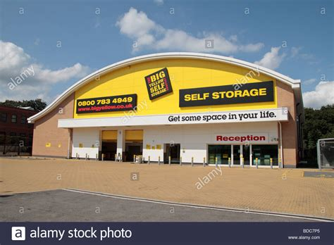 the big yellow self storage facility in southall ealing