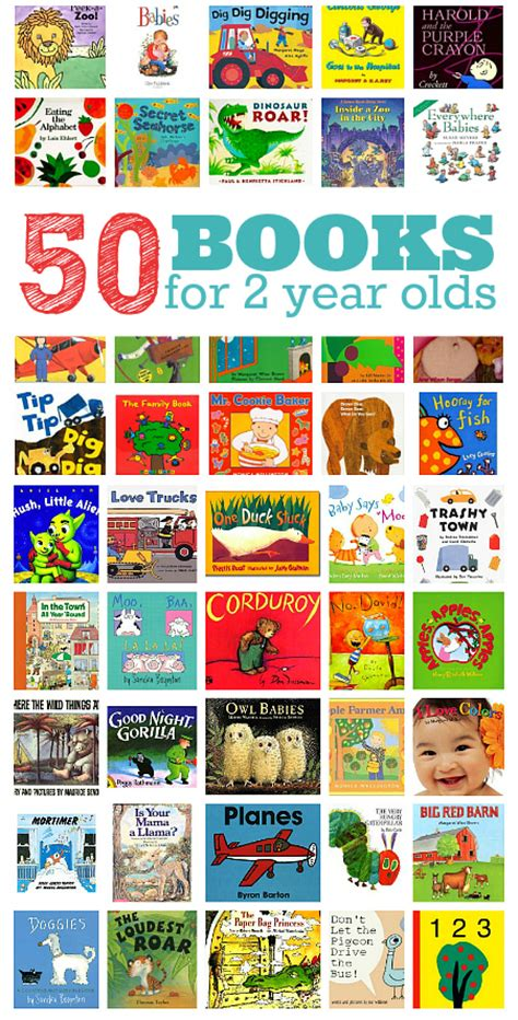 50 books for 2 year olds no time for flash cards