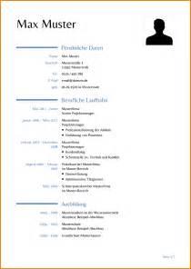 Tabellarischer Lebenslauf Beispiel Word 7 Tabellarischer Lebenslauf Vorlage Word Reimbursement Format