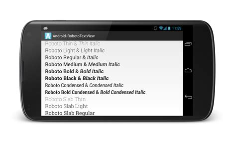 android custom view android robototextview android custom views