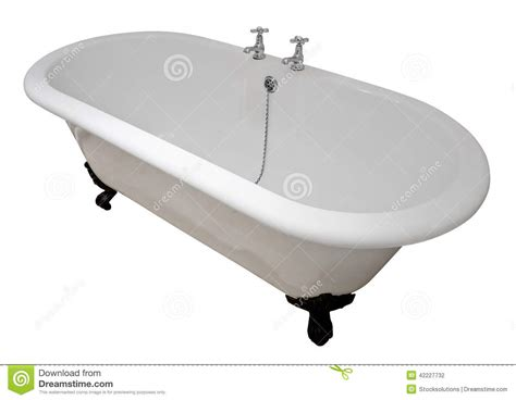 bathtub top victorian roll top bath tub stock photo image 42227732