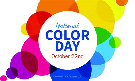 national color day today is national color day davinci roofscapes