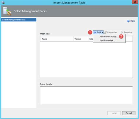 senior manager operations manager imports import management pack in system center operations manager