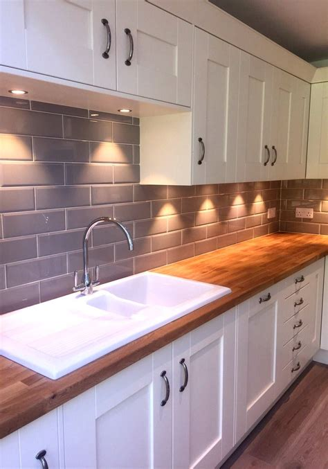 cream kitchen tile ideas our edge grigio tiles look lovely in a cream kitchen with
