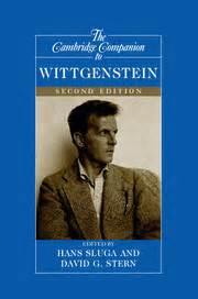 the cambridge companion to wittgenstein cambridge companions to philosophy books cambridge companions