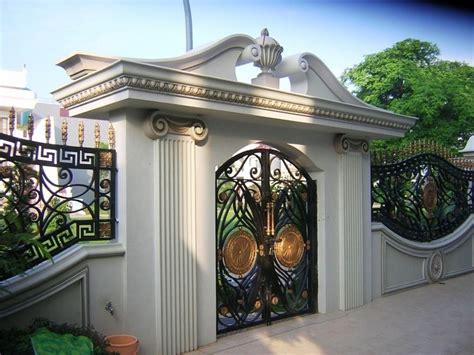 kombinasi warna cat pagar rumah minimalis kumpulan