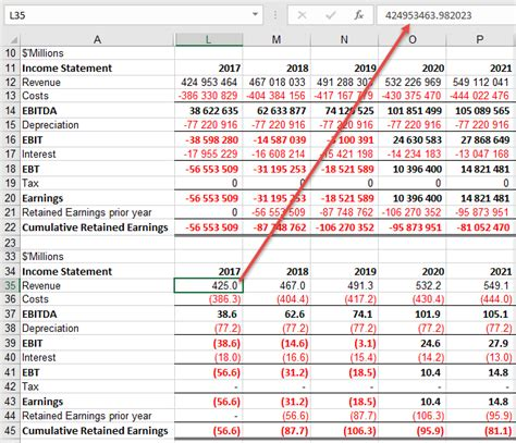 format excel into millions custom format numbers into thousands or millions online