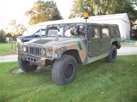 1993 hummer h1 replacement cam 1993 m998a1 h1 miliitary hummer am general no reserve