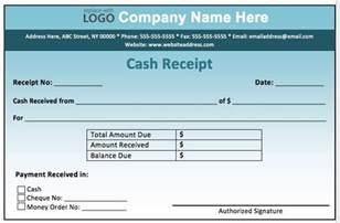 Printable Cash Receipt Template Cash Receipt Template Printable Templates