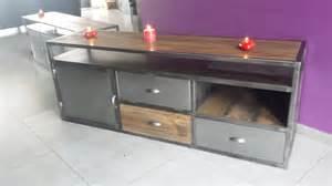 meuble tv industriel pas cher images