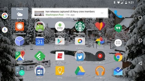 android rotate home screen app beta update resizes app icons auto rotates your home screen pcworld