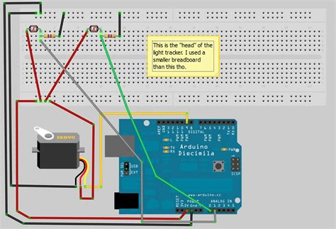 how to make a light tracker using arduino photoresistors stigern net
