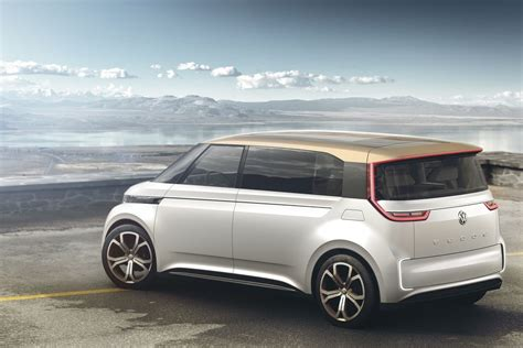 volkswagen minibus electric volkswagen s electric bus concept is a groovy far out