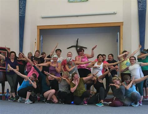 zumba swing zumba in full swing this summer on cus finlandia