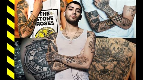 zayn malik tattoos celebrity tattoos amp their meanings